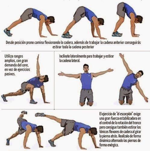 CORE Y MOVILIDAD | Aptitud Fitness (con imágenes) | Ejercicios de ...